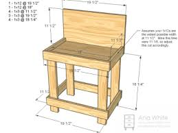 Easy Wood Workbench Plans Quick Woodworking Projects