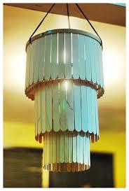 Cool Things You Can Make With Popsicle Sticks Chandelier