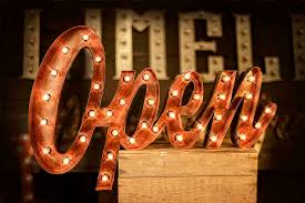 marquee letters open signs marquee letters and retro