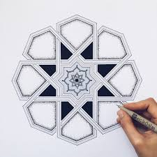 Islamic Art Pattern Geometric Patterns Arabesque Designs For Less Ottoman Sacred Geometry Mosaic