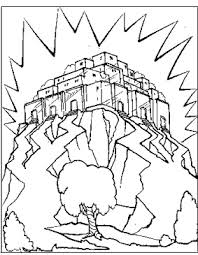 Unbelievable Heaven Coloring Pages Kingdom Of Page