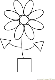 Shape Coloring Pages Page 16 Education Gt Shapes
