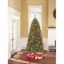 Pre Lit Pencil Cashmere Christmas Tree by Holiday Time Pre Lit 7 U0027 Brookfield Fir Artificial Christmas Tree