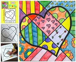Valentines Day Interactive Coloring Writing