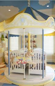 Creative Merry Go Around Baby Twins Cribs Furniture