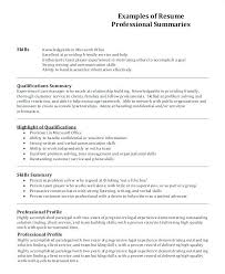 Resume Profile Examples Warehouse Together With Skill Summary For Awesome To Make 2018 College 993