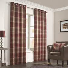 Ebay Curtains With Pelmets Ready Made by Julian Charles Inverness Rust Luxury Lined Woven Eyelet Curtains