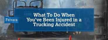What To Do When You Have Been Injured In A Trucking Accident | Ferrara Kirkland Truck Accident Lawyers Wiener Lambka Lawyer Barbourville Jewell Law Office Pllc Indianapolis Attorneys Smart2mediate After A Commercial Trucking Do I Sue The Driver Or Company Fatal Picton Road Crash Truck Driver Veered Onto Wrong Side Of Bend Mones Group Practice Areas Atlanta How To Find Best Very Bad Youtube Jackson Car Madison Attorney Hire A Black Box Data And Why Is It Important In Injury Claims Bsenville Il Kaiser Lawkaiser What Do When You Have Been Injured Ferra