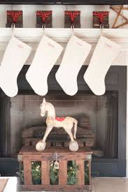 Accessories: Complete Your Mantel With Exciting Christmas Stocking ... Decorating Rustic Stocking Holders With Pottery Barn Holder Christmas Stockings Forids Velvet Mantel Hangers Christmas Stocking Holder By Ohhappydayco Heavy Decor Metal For Mantle North Pole Shing Season Shop Silver Reindeer Hook Streamlined Reindeer Glistens Hanger