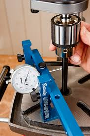 how to test a benchtop drill press to ensure even cuts and no