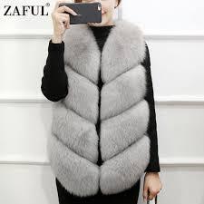 online get cheap faux fur vest women aliexpress com alibaba group