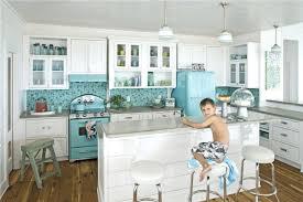 blue glass tile kitchen backsplash kitchen glass tile