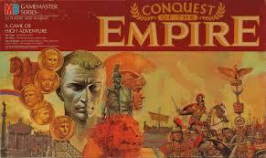 Conquest Of The Empire Roman EmpireTabletop GamesMilton