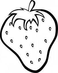 strawberry clipart outline strawberry clip art