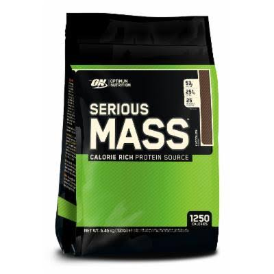 Optimum Nutrition Serious Mass-Chocolate Peanut Butter