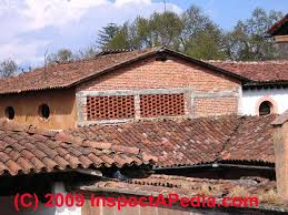 decoration in barrel tile roof 1 synthetic roof tiles