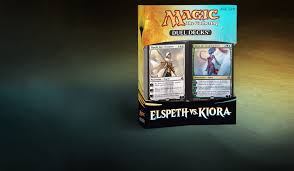Mtg Red White Deck by Duel Decks Elspeth Vs Kiora Magic The Gathering