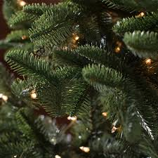 Pre Lit Christmas Tree Walmart Canada by Belham Living 7 5 Ft Natural Evergreen Clear Pre Lit Full