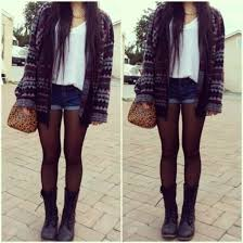 Sweater Combat Boots Shorts Alessandra Sublet Shoes Cardigan Black Purple Long Aztec Tribal Knit