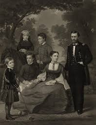 Ulysses S Grant With His Family When Photograph By Everett