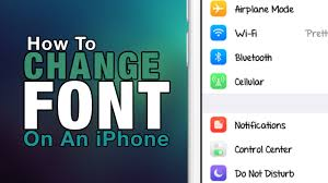 How To Change Font Your iPhone iPad iPod Touch 2016