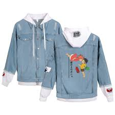 Leisure HIP HOP Ponyo On The Cliff Denim Jean Stitching Jacket Coat  Harajuku Jeans Hoodies Wear Clothes Hoodies For Men/Women Discount Mens  Jackets ... 2019 3d Japan Cute Cartoon Hayao Ponyo On The Cliff Headphone Skin Cases For Apple Airpods 12 Silicone Protection Cover From Atomzing2017 282 Pony O Hair Accsories Home Facebook Poster Classic Old Movie Vintage Retro Nostalgia Kraft Paper Wall Stickers 4230 Cm Namshi Coupon Code Discount Shopping Hacks Online Freedrkingwater Com Coupon Code Hana Japanese Restaurant Does Actually Work Ty Hunter On The By Sea Animiation Comprehension Nintendo Switch Online Amazon Cheapest Clothing Stores Heroes Of Newerth Promo Wedding Rings Las Vegas