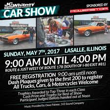 Don't Miss This Amazing Event. JC Whitney Car Show Powered By ... Jc Whitney Truck Parts Catalog Sources Jc Auto Youtube A Closer Look The Pay It Forward Sweepstakes Ram Ecatalog Jcwhitney R190 1957 Whitney Co Crowemag Toys Hot Wheels 1998 Ford F150 Pickup 18672 Ebay Ron Connell Shared With Us His New Years Car Resolution To Finish J C Imported Cars Accsories 1972 Curt Manufacturing Recognized As Official Towing Sponsor Of 5 Steps To Prep Your For Spring Blog Shares A Century Auto Parts Oddities Classiccarscom