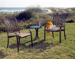 High Top Patio Furniture Sets by Cast Aluminum Outdoor Furniture