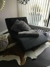 relaxliege leder schwarz wohnzimmer ebay kleinanzeigen