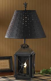 Punched Tin Lamp Shade Country by Amazon Com Park Designs Antique Colonial Inspired Blackstone