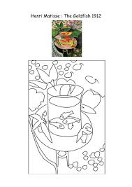 Matisse Colouring Pages By MrsBourdon
