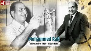 Legend never as we tribute Mohammed Rafi on his 93th Birth