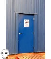 Metal Security Doors inc LPCB rated