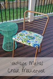 Stack Sling Patio Chair Turquoise Room Essentials by Best 25 Vintage Metal Chairs Ideas On Pinterest Vintage Patio