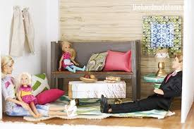 Barbie Living Room Furniture Diy by How To Make A Dollhouse Living Room Study Barbie Scale The