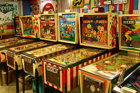 Playing Pinball With My Sister Syl We Could Beat Any Boy Around On A Machine