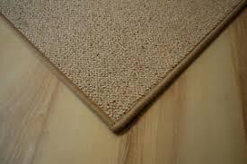 schurwolle teppich umkettelt beige 200 x 350 cm 100 wolle