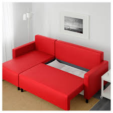 Balkarp Sofa Bed by 20 Choices Of Red Sofa Beds Ikea Sofa Ideas