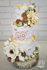 Rustic Country Wedding Cake Chic Cakes