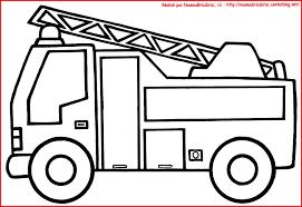 Camion De Pompier à Colorier Coloring Pinterest Fire Kids