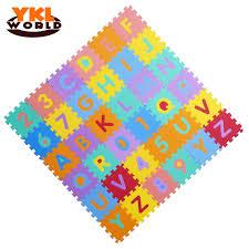 36PCS SET Baby Play Mat EVA Foam Puzzle Mat Children Alphabet and
