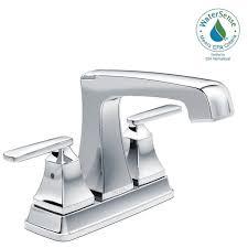 Dripping Bathtub Faucet Delta by Delta Ashlyn 4 In Centerset 2 Handle Bathroom Faucet With Metal