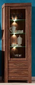 gent vitrine vitrinenschrank wohnzimmer standvitrinen schrank akazie dunkel