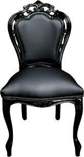 casa padrino luxus barock esszimmer stuhl schwarz lederoptik schwarz designer stuhl luxus qualität