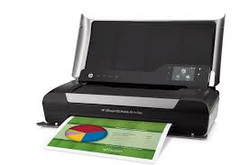 Amazon HP OJ 150 Mobile Wireless Color Printer with Copier