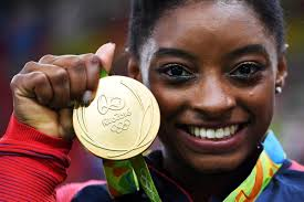 Simone Biles Floor Routine Score by Simone Biles Becomes Fourth Gymnast To Win 4 Gold Medals In The