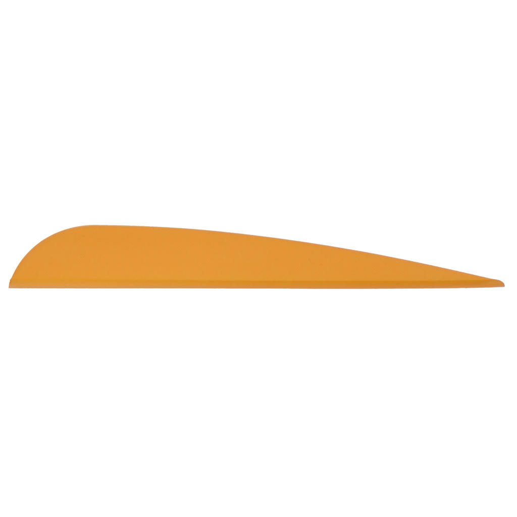 Aae Cavalier Elite Plastifletch Vanes - Sunset Gold, 4""