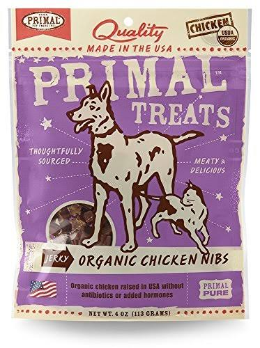 Primal Treats Organic Chicken Nibs