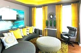 Yellow Curtains Dining Room For Gray Walls Curtain Colors Grey