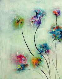 Best 25 Acrylic Painting Flowers Ideas On Pinterest